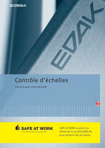Contrôle d'échelles - EDAK AG