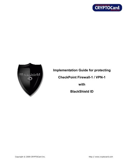 Check Point Firewall-1 VPN Implementation Guide - SafeNet