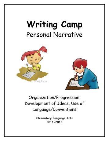 writing personal essay camp america