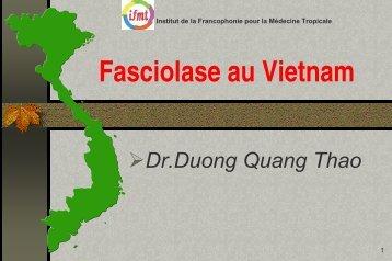Fasciolase au Vietnam - Institut de la francophonie pour la ...