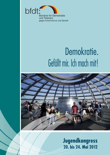 Programmheft als PDF - Demokratisch Handeln