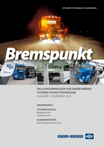 Bremspunkt - Knorr-Bremse