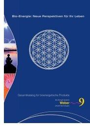 Bio-Energie: Neue Perspektiven für Ihr Leben Gesamtkatalog für ...