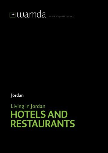 HOTELS AND RESTAURANTS - Wamda