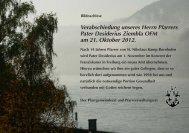 Verabschiedung von Pfarrer Desiderius Ziembla - St. Nikolaus ...