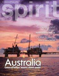 FSC-spirit Magazine 1st quarter 2010 - ConocoPhillips