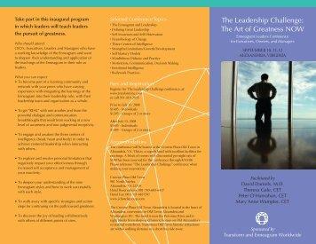 The Leadership Challenge - Enneagram Worldwide