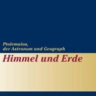 Himmel und Erde - Universitätsbibliothek Bern - Universität Bern