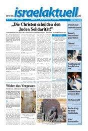 PDF Zeitung März 2009 - Christen an der Seite Israels - Österreich