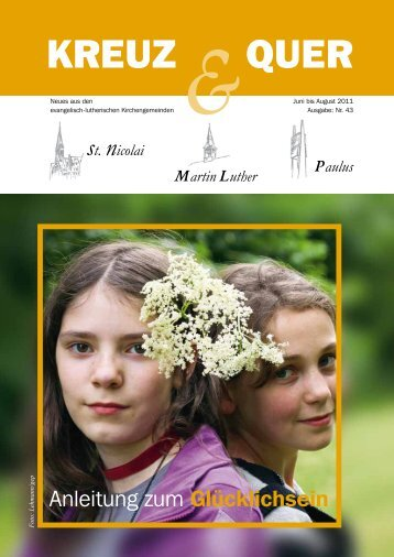 Ausgabe Juni - Juli - August - 2011 - St.Nicolai Lüneburg
