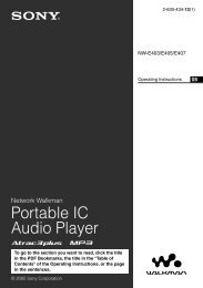 Portable IC Audio Player