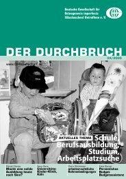 Integrationshelfer in der Regelschule - Deutsche Gesellschaft für ...