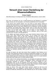 Versuch einer neuen Darstellung der ... - Weltordnung.ch