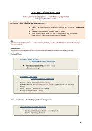 Unterlagen von Bernd Kronowetter zum Nachlesen im PDF