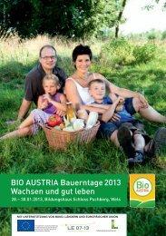 BIO-Saatgut Frühjahr 2013
