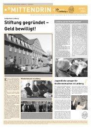 Stiftung gegründet – Geld bewilligt! - Dinslaken-Lohberg