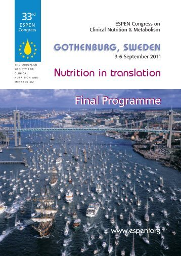 Download Final Programme here (PDF, 1.40 MB) - espen
