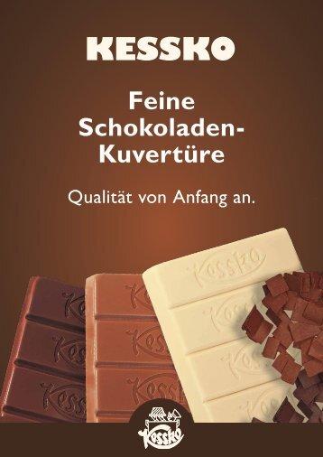 Feine Schokoladen- Kuvertüre - Kessko