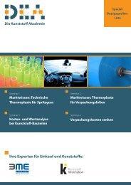 Ihre Experten für Einkauf und Kunststoffe - KI Kunststoff Information