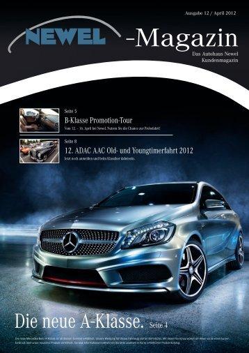 magazin 11/2012 - Autohaus Newel GmbH