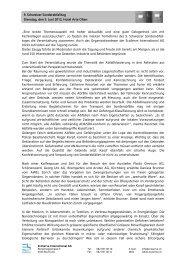 Zusammenfassung SAT 2012 - EcoServe International AG