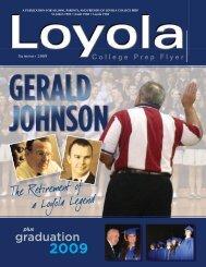 LOY Summer Magazine:Layout 1 - Loyola College Prep