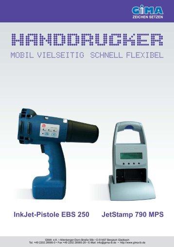 HANDDRUCKER - GIMA