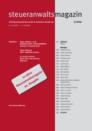 Ausgabe 05/2009 - Wagner-Joos Rechtsanwälte