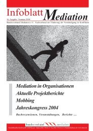 Mediation mit Methoden der Transaktionsanalyse. Ein Arbeitsbuch