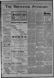1NG i i l B M - Northern New York Historical Newspapers