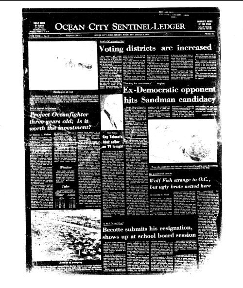 Increased Hits Sandman Candi On Line Newspaper Archives Of