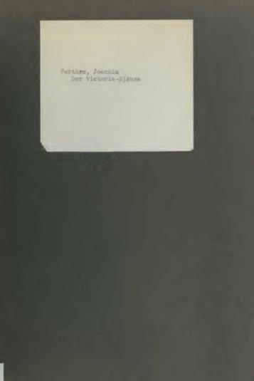 Der Victoria-Njansa : eine monographische Studie auf Grund der ...