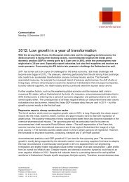 Press release (with data) - Economiesuisse