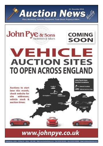 Auction News Nov 21 11 - Auction News Services