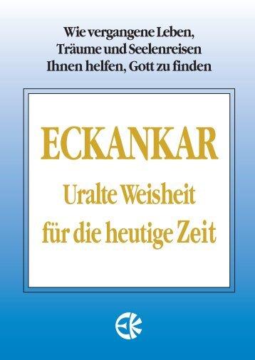 Uralte W eisheit für die heutige Zeit - Eckankar Schweiz