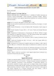 Istituto di Biologia Agroambientale e Forestale (IBAF ... - Urp CNR