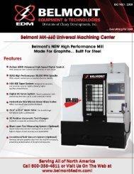 Belmont EDM Equipment Company