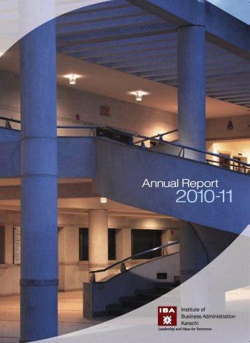 IBA Annual Report 2010-11