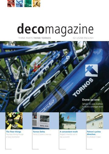 Deco magazine - Tornos