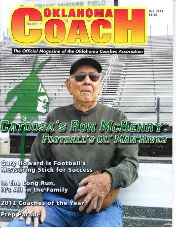 Oklahoma Coach Magazine - Camille Herron