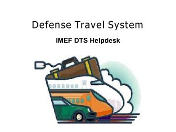 defense travel system the travel advisor