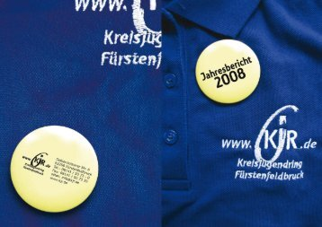 2008 als PDF(2,3 MB) - Kreisjugendring  Fürstenfeldbruck