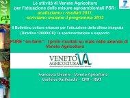 """PURE """"on-farm"""": I primi risultati su mais - Veneto Agricoltura"""