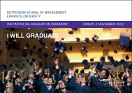 GRADUATE - Rotterdam School of Management