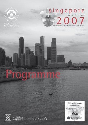 singapore - International Bar Association
