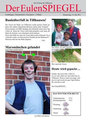 Der EulenspiEgEl - Kreisjugendring Herzogtum Lauenburg