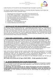 Newsletter 11-03 -  Kreisjugendring Herzogtum Lauenburg e.V.