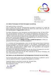 02 Infoschreiben Gutschein - Kreisjugendring Herzogtum Lauenburg