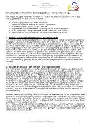 Newsletter 12-10 - Kreisjugendring Herzogtum Lauenburg