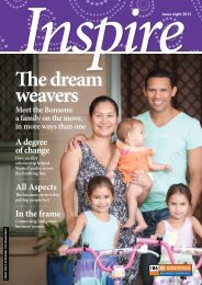 Inspire magazine issue eight - Indigenous Business Australia